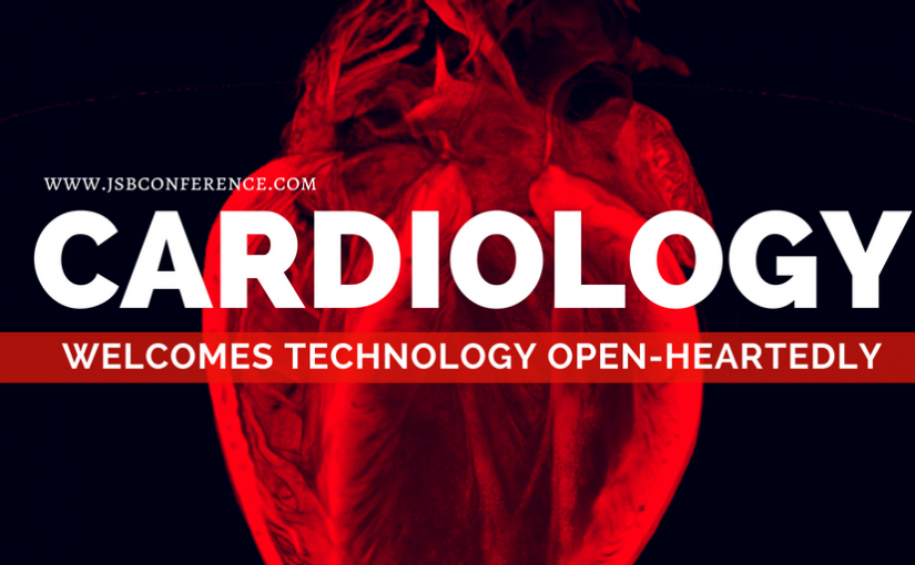 Cardiology welcomes technology open-heartedly
