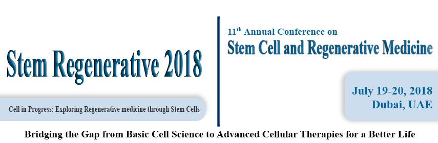 Stem Cell Conferences 2018 | Regenerative Medicine Meetings | Europe